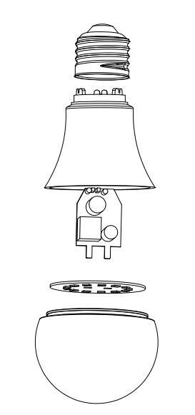 Microwave Sensor Bulb
